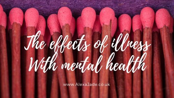 How being ill effects mental health
